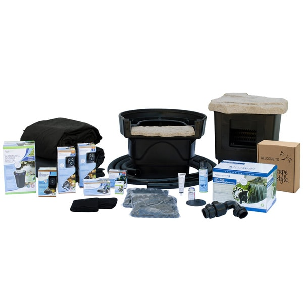 Aquascape Medium 11' x 16' Pond Kit w/Tsurumi 3PL Pump