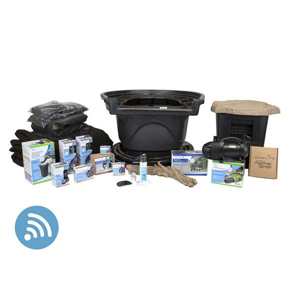 Aquascape Large Deluxe 21' x 26' Pond Kit w/ AquaSurge PRO 4000-8000