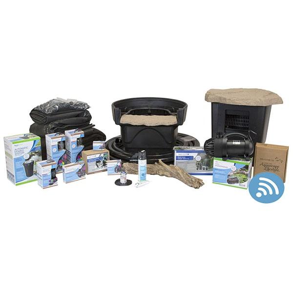 Aquascape Medium Deluxe 11' x 16' Pond Kit w/ AquaSurge Pro Pump