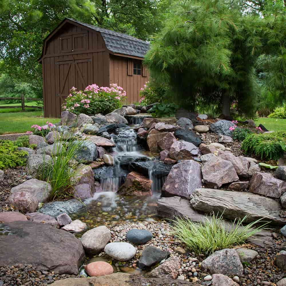 Small Pondless Waterfall Kit 6 Ft Stream The Pond Guy