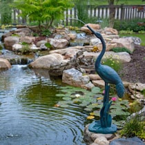 Aquascape Standing Crane Spitter