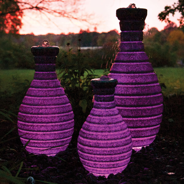 Atlantic™ Color Changing Vase Fountain