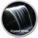 Atlantic(tm) Colorfalls Crystal White