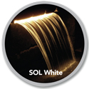 Atlantic(tm) Colorfalls SOL White
