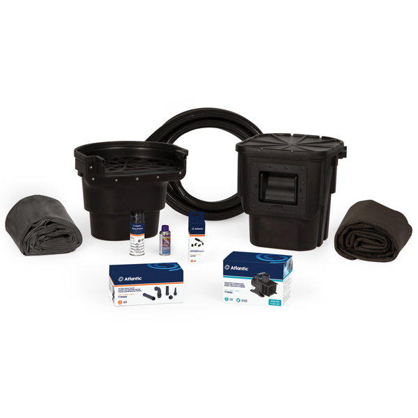 Garden pond kits pond kits for sale the pond guy for Small pond kits