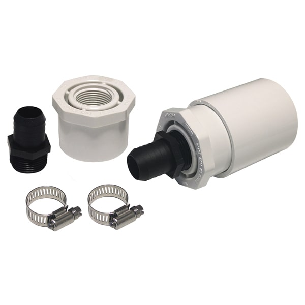 Kink Free Plumbing Connector Kit For Triton Ionizers