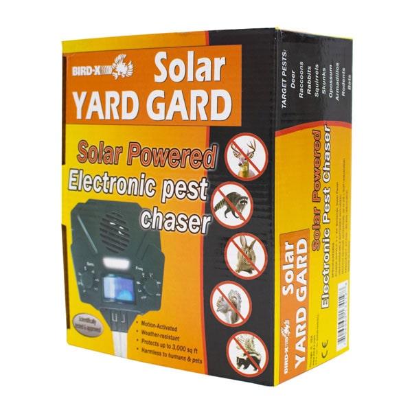 Bird-X Solar Yard Gard UltraSonic Predator Control