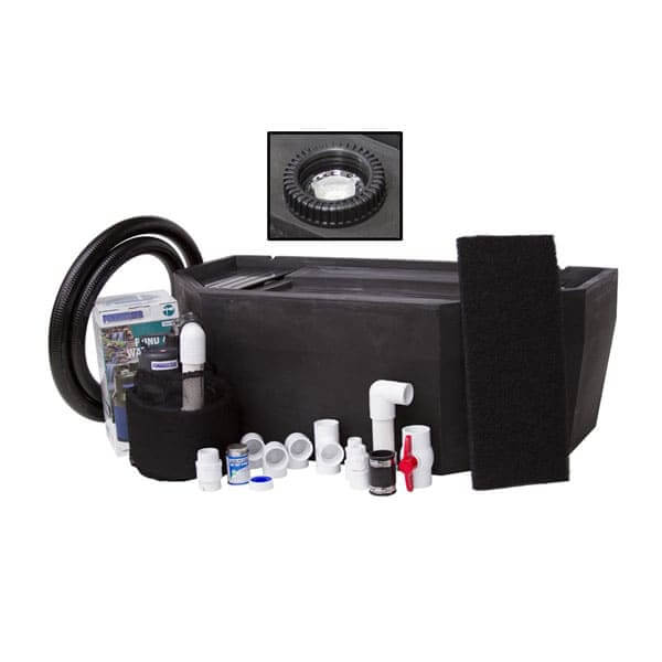 Blue Thumb Basin Kit For Medium Formal Falls w/ LED Light (formerly PondBuilder™)