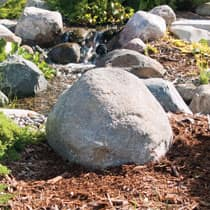 CrystalClear® TrueRock™ Small Boulder Covers 18L x 16W x 11H
