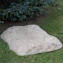 CrystalClear TrueRock Large Flat Covers 42L x 36W x 5H-Inch