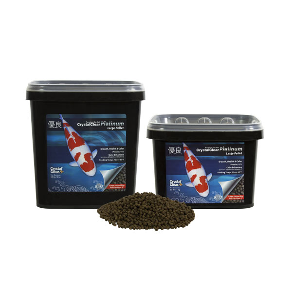 CrystalClear Platinum Large Pellet Fish Food