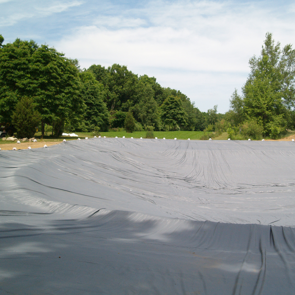 Custom pond liner rpe and pvc rubber the pond guy for Building a large pond