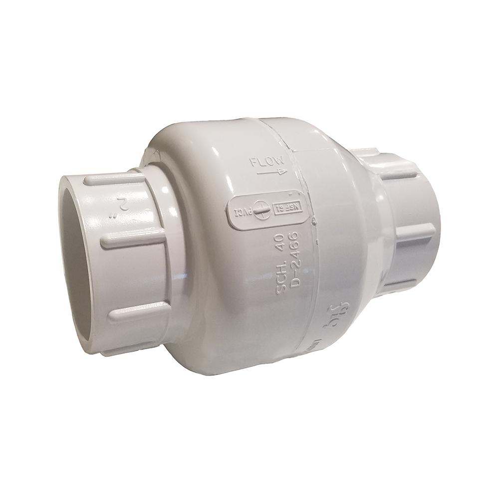 Pvc check valve fittings the pond guy
