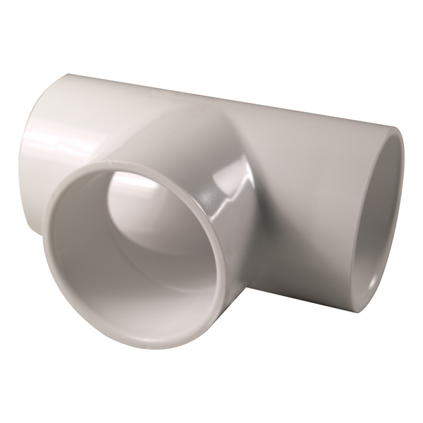 PVC Tee (Slip x Slip x Slip)