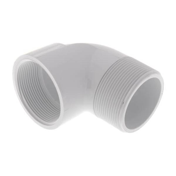 PVC 90º Street Elbow - (FPT x MPT)