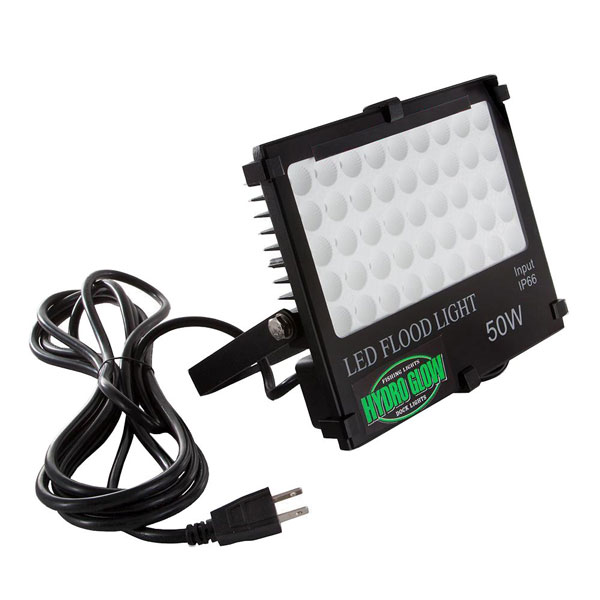 Hydro Glow Dock LED Flood Light Green 50 Watt w/ 10' Power Cord