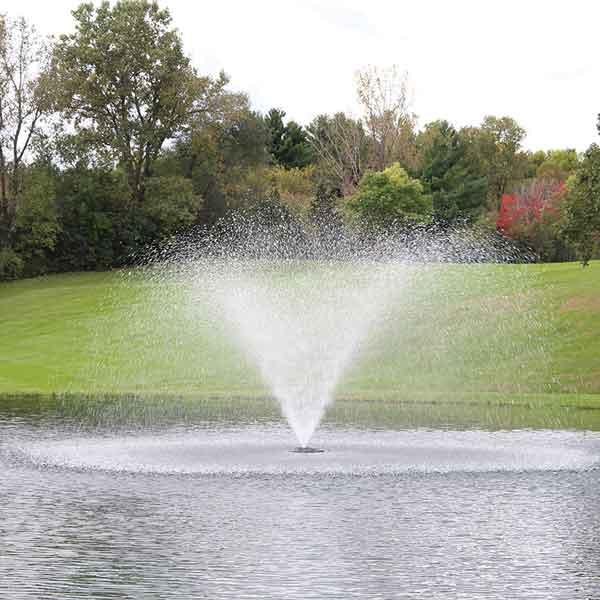 Kasco 1 HP 4400HJF Fountain, 5 Spray Patterns, 230V