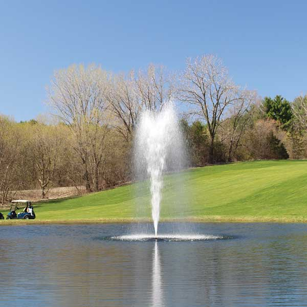 Kasco 3 HP 3.1JF Fountain 6 Spray Patterns Included