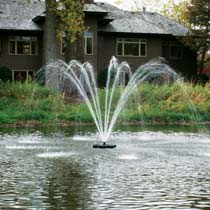 Kasco 4400JF 1 HP Decorative Fountain Cypress