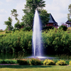 Kasco 8400JF 2 HP Decorative Fountain Redwood
