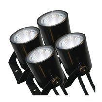 Universal 4 Fixture LED Light Kit Fits Non-Kasco Fountains