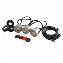 Kasco Stainless Steel 3 LED Light Kit 19 Watts
