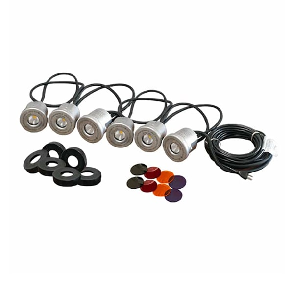 Kasco Stainless Steel 6 LED Light Kit 19 Watts
