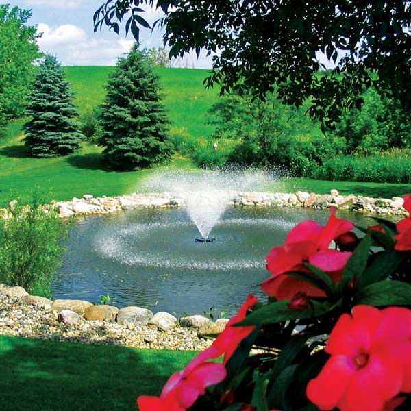 Kasco 1 HP 4400HVFX Fountain, Single Pattern - 230 volt