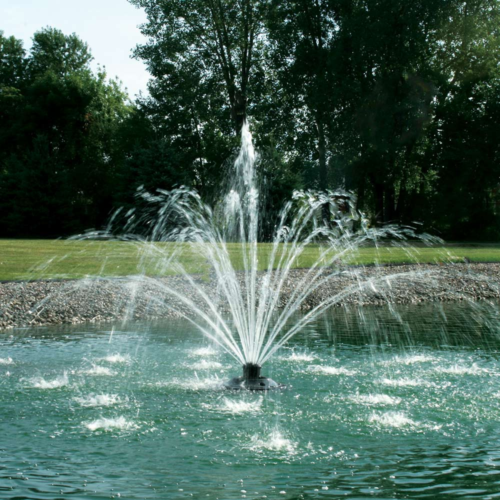 Kasco xstream 2400sf 1 2hp pond fountains the pond guy for Pond fountains