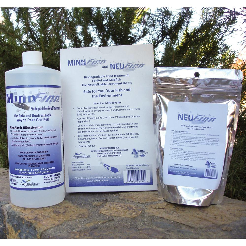 MinnFinn™ Biodegradable Pond Treatment