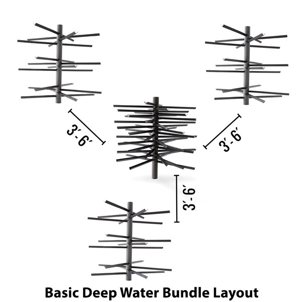 MossBack Fish Habitat™ Deep Water Bundles