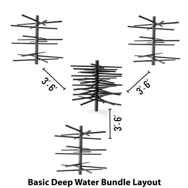 MossBack Fish Habitat™ Deep Water Bundles