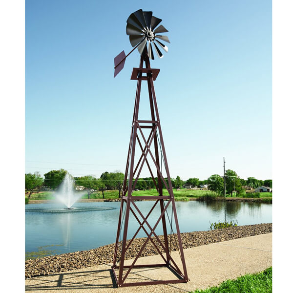 Water Garden Backyard Windmill - 12'
