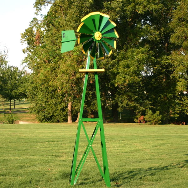 Water Garden Backyard Windmill - 9'