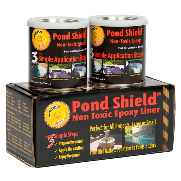 Pond Armor Pond Shield Non-Toxic Epoxy Pond Liner 1.5 Quarts