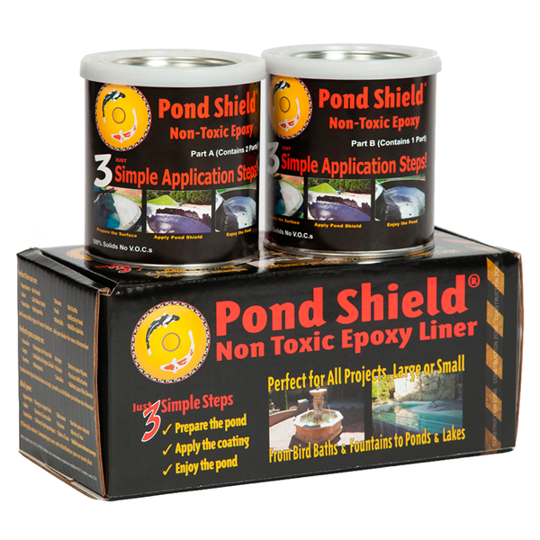Pond Armor® Pond Shield® Non-Toxic Epoxy Pond Liner 1.5 Quarts