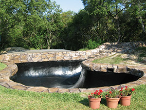 Fish pond liner garden pond liners the pond guy for Garden pool liners nz