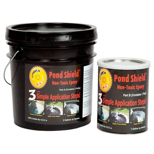 Pond Armor Pond Shield Non-Toxic Epoxy Pond Liner 3 Gallons