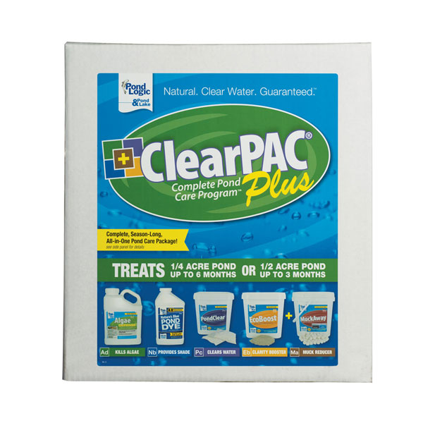 Pond Logic® ClearPAC® Plus Pond Care Packages