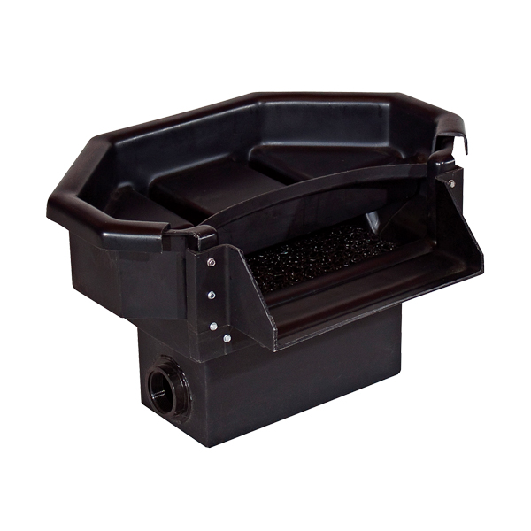 Pondbuilder elite cascade spillway waterfall boxes the for Small pond filter box