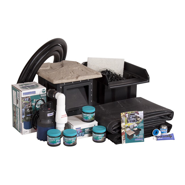 PondBuilder™ Serenity Complete 8' x 11' Pond Kit