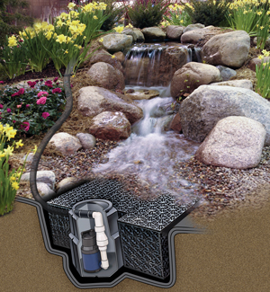 Pondless waterfalls water feature supplies the pond guy Small waterfall kit