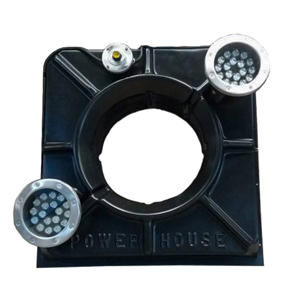 Power House (2) 18−Watt White LED Lights