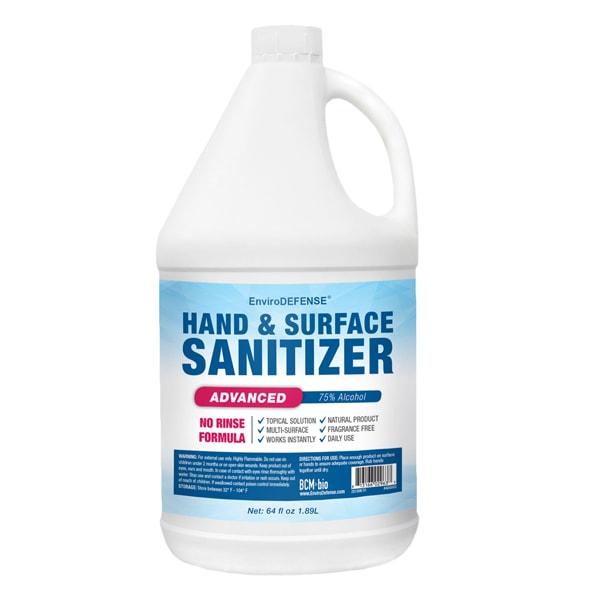 Hand & Surface Sanitizer Half-Gallon (64 Ounce)