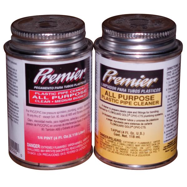 Premier™ All Purpose PVC Glue & Primer