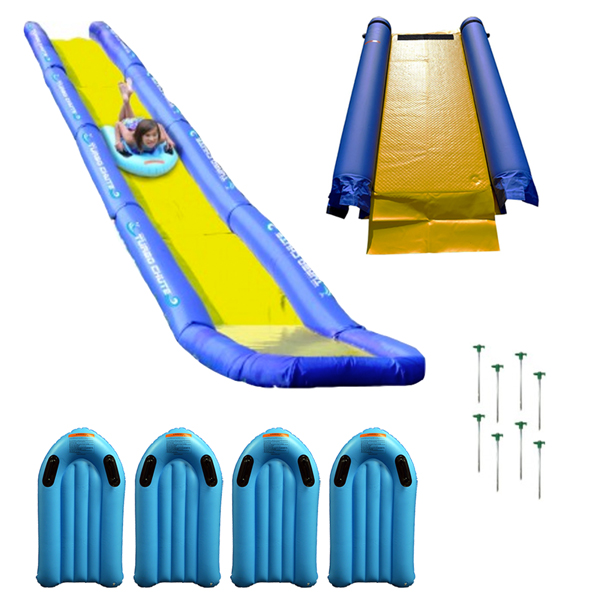 RAVE Sports® Turbo Chute™ Water Slide Backyard Package