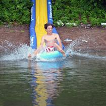 Turbo Chute™ Water Slide Lake Package