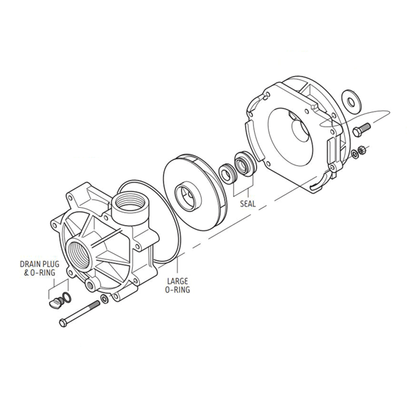 Sequence® Power 1000 Pump Replacement Parts