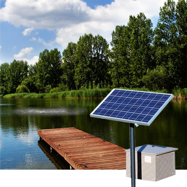 Solar Powered Aeration Systems