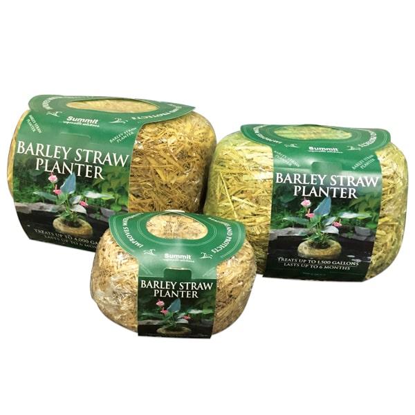 Summit Barley Straw Planters